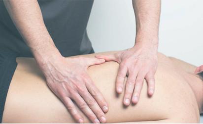 Masaje terapeutico / Descarga